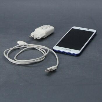 Dětský telefon Clemphone bílý