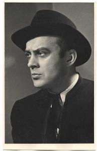 Herec Karel Höger, foto Josef Heinrich