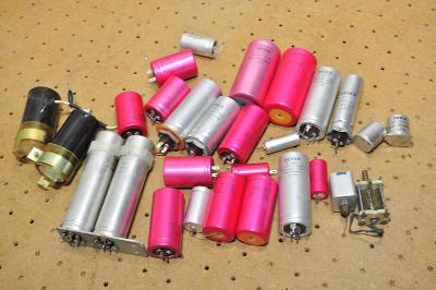 MIX elektrosoučástek - různé konvolut *6
