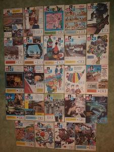 ABC časopisy - ročník 19/ roky 1974 - 1975