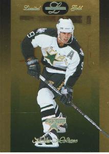 MIKE MODANO - DALLAS STARS (96/97 LEAF LIMITED GOLD)