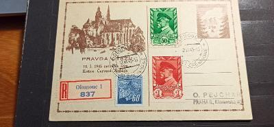 Celistvost Koresp. lístek 1945, Masaryk