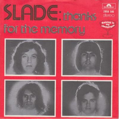 SLADE-THANKS FOR THE MEMORY 1975.