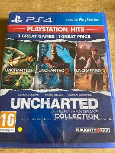Ps4 - uncharted 3 games  - the nathan drake collection