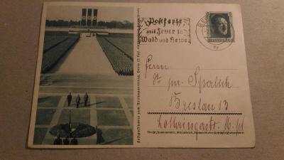 DT. REICH 1937 CELINA P264/01 ZNÁMKA HITLER  -O-