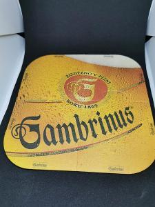 Pivní tácky - Gambrinus, Puzzle