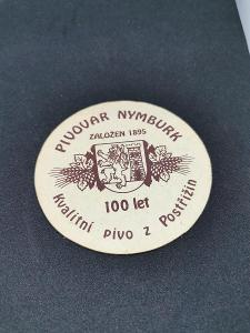 starý Pivní tácek - Pivovar Nymburk