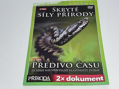 2 X FILM NA DVD - ZÁZRAKY PŘÍRODY / DVD NOVÉ