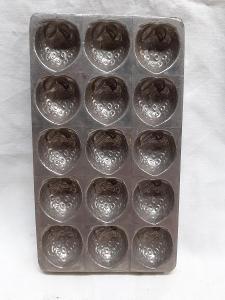 Hezká forma na čokoládové jahody  / 451 /
