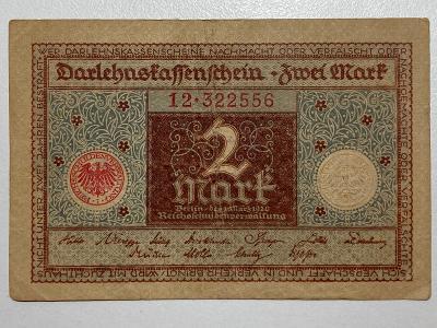 Německo 2 mark 1920