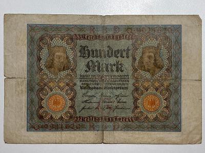 100 mark 1920 Německo