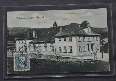 Sokolovna v Bratříkově - Pěnčín