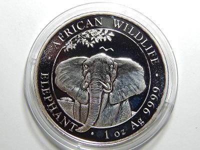 Somálsko 100 Shillings 2021 1 Oz Ag 999 PROOF UNC čŠU007