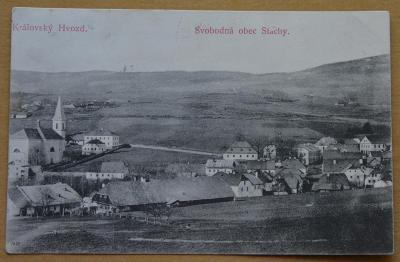 Královský Hvozd - svobodná obec Stachy - panorama