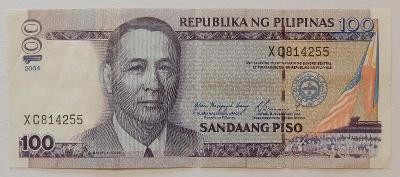 FILIPÍNY (P194a) 100 Pesos 2004 VF+