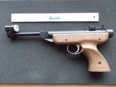 Pistole vzduchovka originál Target Panther v původním obale Itálie