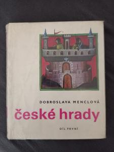 KNIHA ČESKÉ HRADY 1.DÍL D.MENCLOVÁ