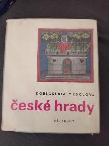 KNIHA ČESKÉ HRADY 2.DÍL D.MENCLOVÁ
