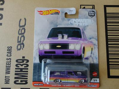 Hot Wheels Custom 72 Chevy LUV.Rozbalený.Krabička je otevřena.
