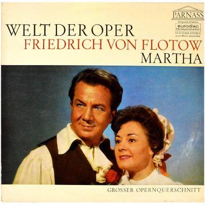 gramofonová deska FRIEDRICH VON FLOTOW - Martha