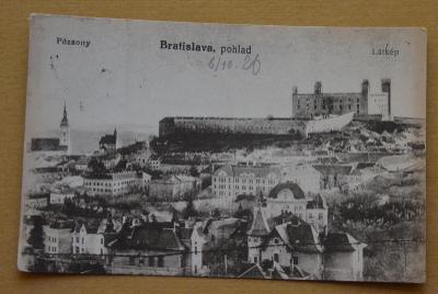 Slovensko - Bratislava / Pozsony / část města - Hrad před rekonstrukcí