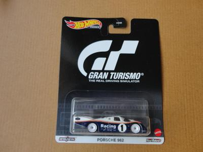 Hot Wheels Porsche 962.Rozbalený.Krabička je otevřena.