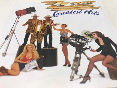 ZZ TOP: Greatest Hits 1992, RE 2002, Jewel case, Od korunky !!!