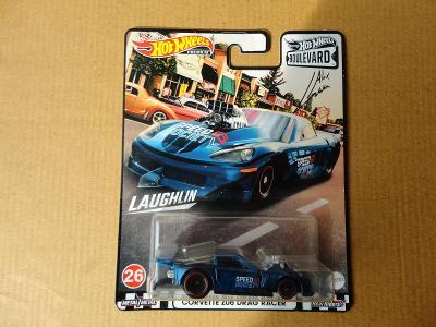 Hot Wheels Corvette Z06 Drag Racer.Rozbalený.Krabička je otevřena.