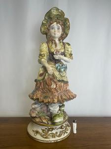 TOP-Luxusní porcelánová socha - XXL signovaná