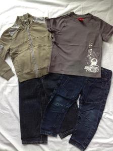 Setík oblečení na chlapečka, vel. 2-3 r