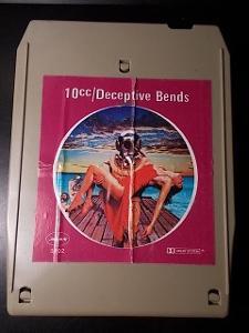 10 cc ......... 8 track originál kaseta