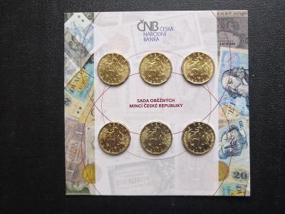 Vzacna sada 20 korun 2018-2019 v provedeni PROOF