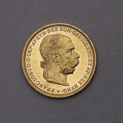 Zlatá 20 Koruna FJ I. 1904 bz - Top Stav a Vzácnější!