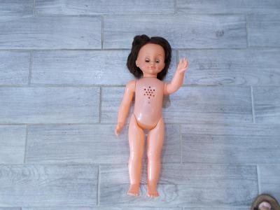 Gumo-plastová  mrkací / brečící panenka  58cm - od 1kč