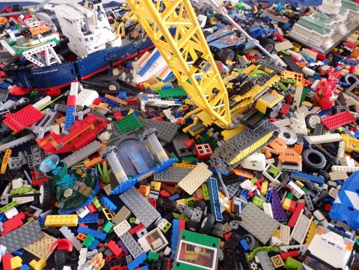LEGO MIX (CCA 18KG) - Hračky