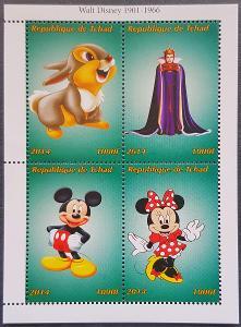 Disney Tchad dětské I. 1ks aršík