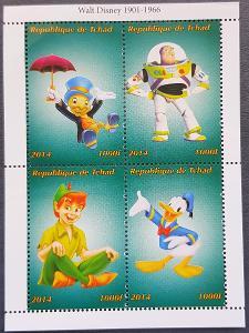 Disney Tchad dětské II. 1ks aršík
