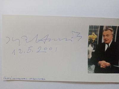 Autogram ... Ilja HURNÍK hudební skladatel
