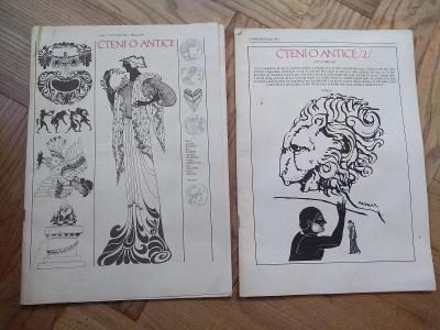 Čtení o Antice 1974 a 1975