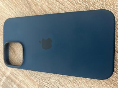 iPhone 13 Pro Max Silicone Case Blue