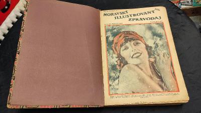 Moravský ilustrovaný zpravodaj: ročník 1927 (všechna čísla!, vázané)