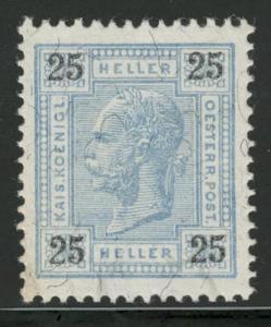 Rakousko / Österreich 1899 - KAISERKOPF - ANK / Mi. 76 **