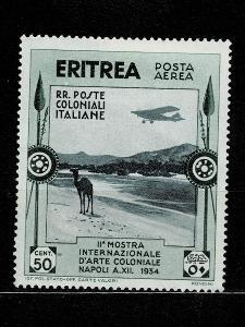 Eritrea - Italské kolonie - 1934 - Mi 228* letecké - Nr.113