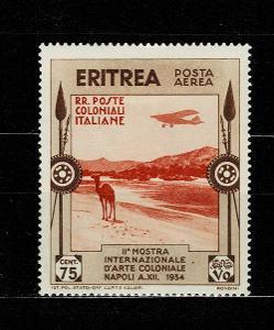 Eritrea - Italské kolonie - 1934 - Mi 229* letecké - Nr.113