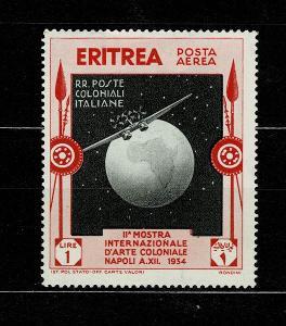 Eritrea - Italské kolonie - 1934 - Mi 231* letecké - Nr.113