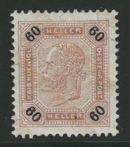 Rakousko / Österreich 1901 - KAISERKOPF - ANK / Mi. 96 *
