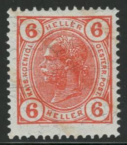 Rakousko / Österreich 1904 - KAISERKOPF - ANK / Mi. 109 **
