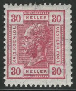 Rakousko / Österreich 1906 - KAISERKOPF - ANK / Mi. 138 *