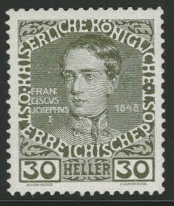 Rakousko / Österreich 1908 - JUBILÄUMSAUSGABE - ANK / Mi. 148 **