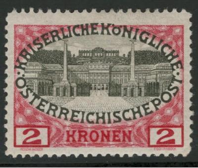 Rakousko / Österreich 1908 - JUBILÄUMSAUSGABE - ANK / Mi. 154 *